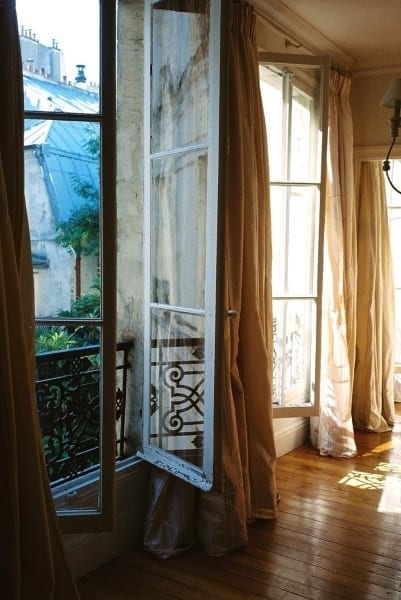 Drapery & French Doors