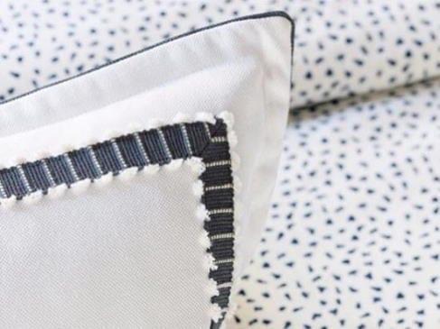 Black White Pillows Bedding Laguna Beach Shadey Ladies
