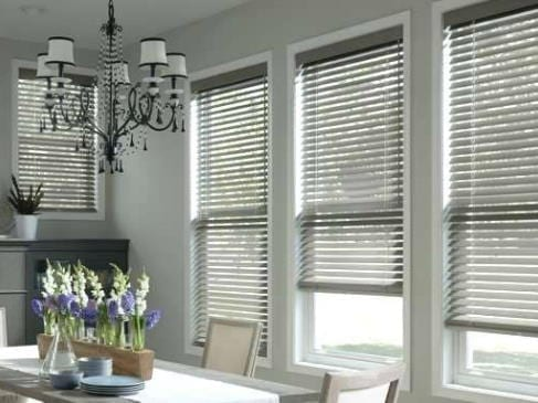 gray wood blinds laguna beach